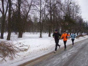Холод - это не так уж и страшно, если ты бежишь