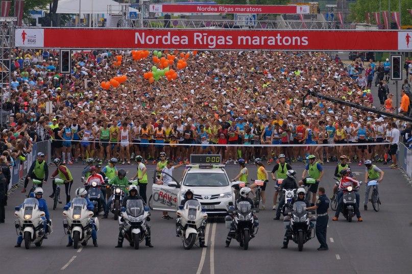 Рижский марафон