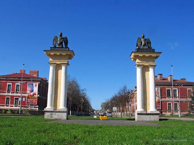 Гатчина Ингербургские ворота