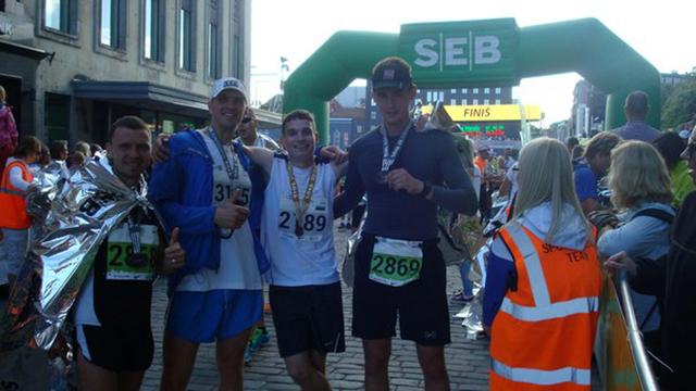Таллинский марафон финишеры Run4Fun
