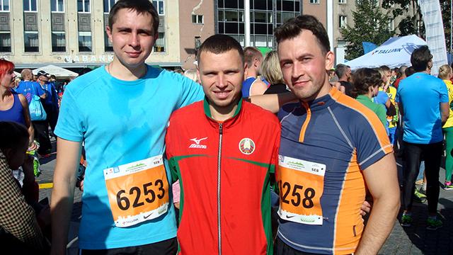 Таллинский марафон финишеры 10км Run4Fun