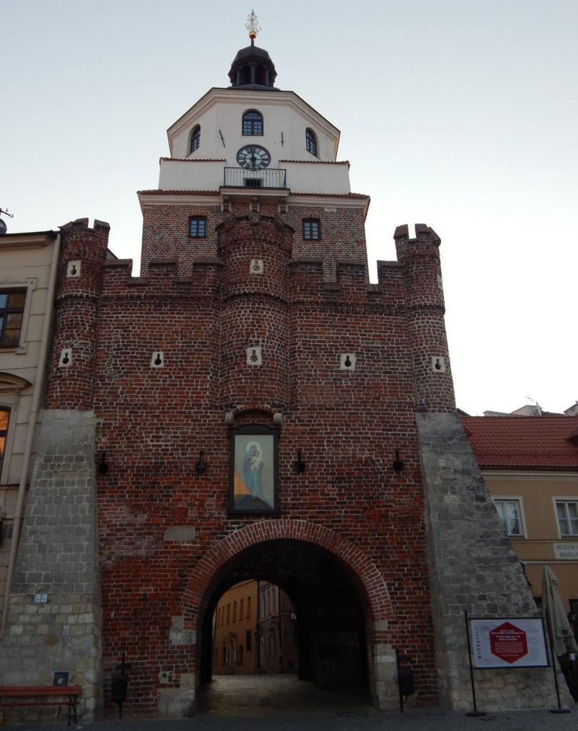 Люблин краковские ворота