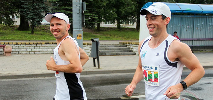 марафон дружбы бег
