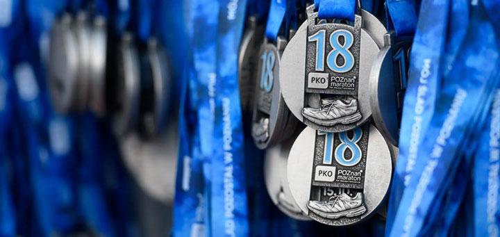 poznan marathon medal