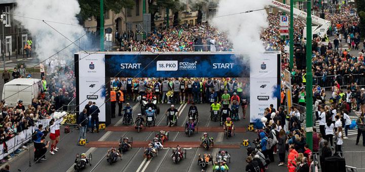 poznan marathon start