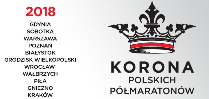 korona polskich polmaratonow logo